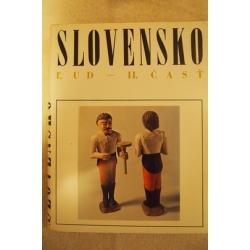 Kol.autor  - Slovensko - Ľud - II.časť