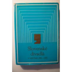 Jaborník J. - Slovenské divadlá v sezóne 1984-1985