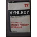 Driesch H.  - Základní problémy psychologie